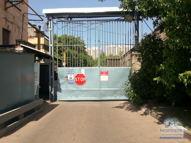 бирюзовые ворота