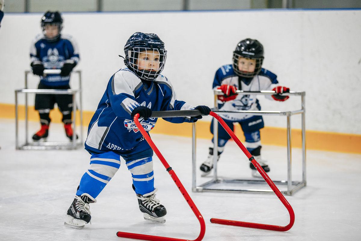 хоккейные детские клубы в москве